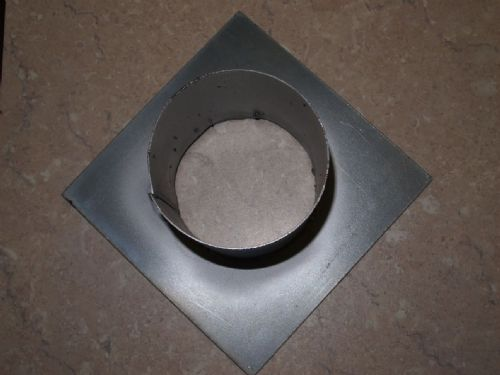 Round Ended Galvanized Outlet